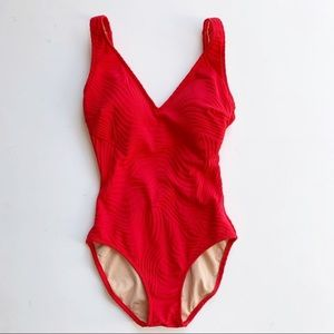 GOTTEX Red One Piece Swimsuit